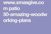 Patii in legno