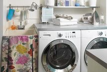 Laundry LOVE  / Some of my favorite laundry room ideas...this will be the last room I do...but it's ok to dream! / by Lisa Barton