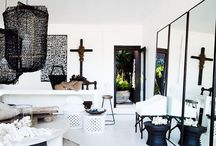 """Interior Inspiration """"Ethnic influences"""" / Ethnic interior with different influences and a bold vibe."""