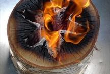 Bonfires! / All aflame...!