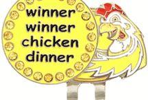 Winner, Winner Chicken Dinner Golf Tournament Theme