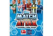Match Attax Germany Bundesliga 2014 - 2015 / The new season is just around the corner and Topps are releasing the new installment Match Attax Germany Bundesliga 14 - 15.  The collection will be available at www.mytradingcards.co.uk