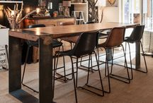 Table Haute Albert Wood