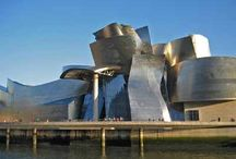 Guggenheim Museum, Bilbao / ... because it's a much nicer building than all the other Guggenheim Museums! / by Mary Peterson