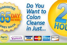 All Natural Colon Cleanse / Natural colon cleaning for improved health and weight loss.