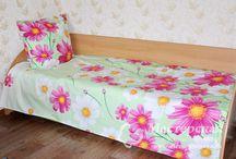 Текстиль для дома / Шьем самостоятельно постельное белье, а также предметы для кухни - фартуки, прихватки и прочее