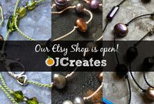 OJ Creates Etsy Shop / Visit our mother-daughter Etsy shop!  We only open for a few weeks each season, so catch us while our doors are open!  https://www.etsy.com/shop/OJCreates