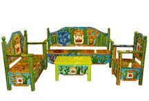 Magia y Mueble: Salas / Una gran variedad de colores reflejar la belleza con un toque mágico a través de formas, colores y texturas que hacen sentir la esencia de México. Nuestros productos representan la pasión y dedicación que empeñamos a nuestro trabajo.