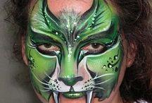 cool cats face paints