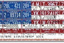 License Plate Art Check and Checkbook Series