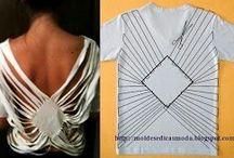 blusas cortadas