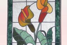 patchwork Bleiverglasung