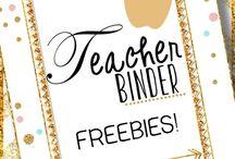 binder freebies