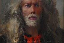 Lenkiewicz / Robert Lenkiewicz loved women and painted many, his others works are not to my taste, but I love these.