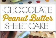 Sheet pan dessert