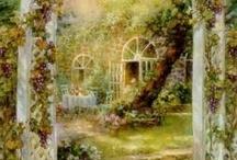 garden in art