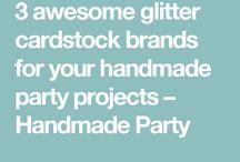 PARTY CREATORS \ Materials