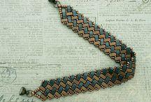 Jewelry: Bead Weave Tila, Half Tila beads