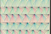 Illustration & Patterns / #illustration #pattern / by Heidi Yarger // Spitfiregirl
