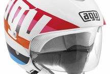 AGV Bali II / The Bali II helmet is intended for scooter riders looking for a stylish product with strong Urban connotations. This helmet features a large visor and the leather and soft inner materials are colour coded to match the shell tand perfectly suit the metropolitan scenario riders usually cross. A peak protects from the sun and makes the helmet more comfortable. / by AGV Helmets Official