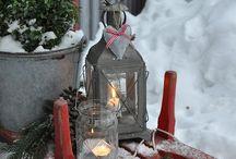 Outdoor Christmas decoration garden