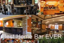 Best Home Bar Ideas EVER / Ideas and Inspiration for an awesome bar in your home.  Modern home cars, contemporary, poolside bars, wine bars and so much more.