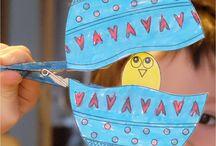 Bricolages créatifs de Pâques - enfants