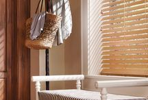 Horizontal Blinds by Hunter Douglas / Parkland and Everwood blinds offer a wide range of sizes and styles of horizontal blinds to match any decor.