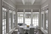 Roman Shades / Our custom made roman shades.