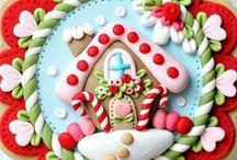 Boże Narodzenie pierniki świąteczne