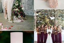 Winter wedding color