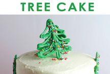 bolo de natal decoração