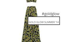 GOLD GLOW by C-THROU / GOLD GLOW by  C-THROU Summer Resort 14 collection  Shop Online at C-THROU.COM