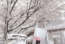 neige         než