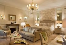 New rooms designed by Pierre-Yves Rochon / by Beau-Rivage Palace