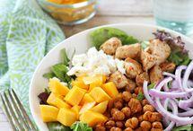 Šaláty , polievky / Rýchle ,nenáročné  zdravé