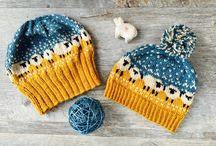 Happy sheep -knitting / baa-ble