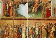 Catolic Saints and Virgin Maria / by Miguel Cabrera