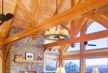 Timber frame: Great rooms