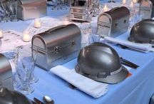 Construction Zone Decor / by Creative Catering Corporation Bill & M.J. Essenmacher