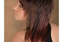 Mittel langes haar