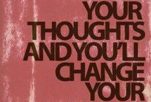 parole / You can change your world by changing your words...