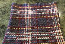 Plaid Scarg Knit