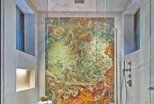 marmur w łazience / marble bathroom design ideas / marmur w łazience / marble bathroom design ideas