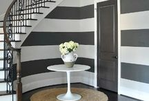 Hallway Decorating Ideas / Hallway and stairs decorating ideas and inspiration. Hallway paint, lighting, colours, runners, galleries, furniture and more.