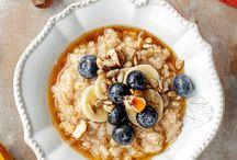 Owsianki, zdrowe śniadania