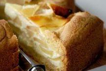tarta manzana y requeson