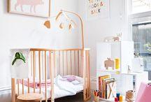 Decoração Quartos de Bebê / Ideias e inspiração para decorar o quarto de um bebê com amor e carinho...