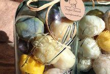 soap balls! / hanging soaps