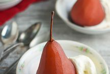 Poached fruit